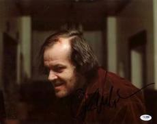 Jack Nicholson The Shining Signed 11X14 Photo PSA/DNA #I65493