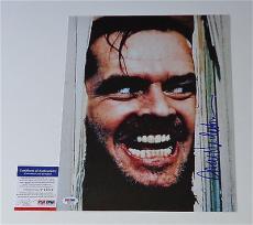 "Jack Nicholson The Shining Signed ""here's Johnny!"" 11x14 Photo Psa Coa P45704"