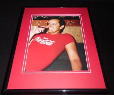 Jack Nicholson wearing Coca Cola T Shirt Framed 8x10 Photo Poster