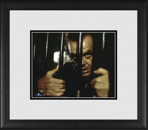 "Jack Nicholson Wolf Framed 8"" x 10"" Behind Bars Photograph"