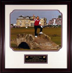 "Jack Nicklaus 2005 British Open Framed Autographed 16"" x 20"" Photograph"