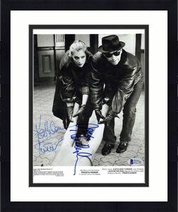 Jack Nicholson Kathleen Turner Signed Prizzi Honor 8x10 Photo Beckett BAS