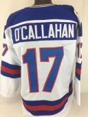 Jack O'Callahan 1980 Miracle on Ice unsigned custom USA Hockey jersey adult xl
