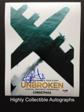 Jack O'connell Signed 8x10 Photo Autograph Psa Dna Coa Unbroken