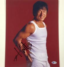 JACKIE CHAN Autograph Signed 11x14 Photo w/ BAS Beckett COA ~ RUSH HOUR auto