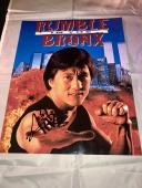 JACKIE CHAN HAND SIGNED 11X14 PHOTO RUSH HOUR Rumble In The Bronx JSA CERT