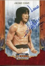 Jackie Chan Rush Hour Star Rare Donruss Americana Signed Autograph Photo Card
