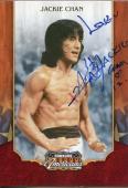 Jackie Chan Rush Hour Star Rare Donruss Americana Signed Autograph Photo Card