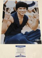 Jackie Chan Signed 11x14 Photo Authentic Autograph Rush Hour Beckett Coa C