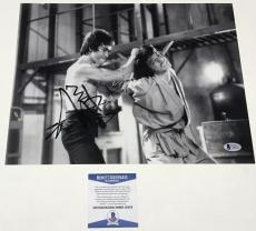 Jackie Chan Signed 11x14 Photo Authentic Autograph Rush Hour Beckett Coa D