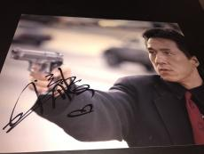 JACKIE CHAN SIGNED AUTOGRAPH 11x14 PHOTO RUSH HOUR PROMO IN PERSON AUTO RARE