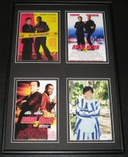 Jackie Chan Signed Framed 12x18 Photo Display JSA Rush Hour