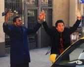 Jackie Chan Signed Rush Hour 11x14 Photo BAS Beckett C81084
