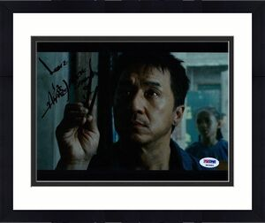 Jackie Chan THE NEW KARATE KID Signed 8x10 PSA/DNA COA