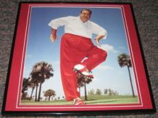 Jackie Gleason Golfing Framed 11x14 Photo Display The Honeymooners