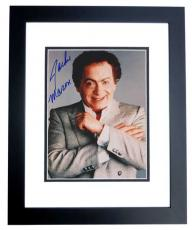 Jackie Mason Signed - Autographed 8x10 inch Photo BLACK CUSTOM FRAME - Guaranteed to pass PSA or JSA