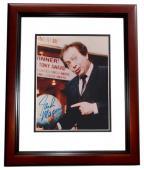 Jackie Mason Signed - Autographed 8x10 inch Photo MAHOGANY CUSTOM FRAME - Guaranteed to pass PSA or JSA