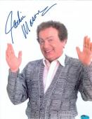Jackie Mason autographed paper picture 8x10 (Caddy Shack 2)