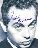 Jackie Mason Autographed Signed Serious Look Photo AFTAL