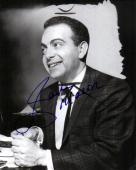 Jackie Mason Autographed Signed Smiling Photo AFTAL