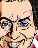 Jackie Mason Autographed Signed Toon Photo AFTAL