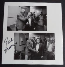 Jackie Mason Comedy Legend Signed Autographed 10x10 Book Page Photo Coa A