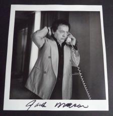 Jackie Mason Comedy Legend Signed Autographed Twice 10x10 Book Page Photo Coa A