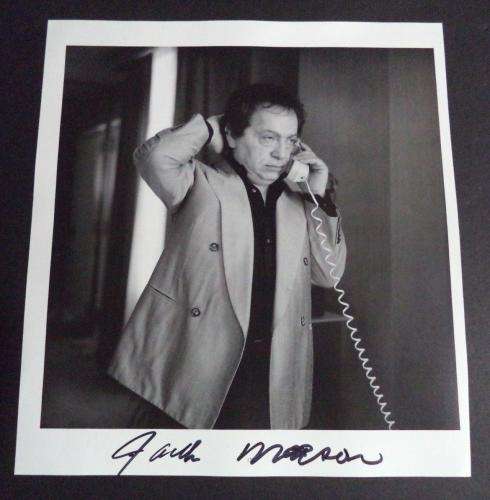 Jackie Mason Comedy Legend Signed Autographed Twice 10x10 Book Page Photo Coa A