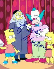 Jackie Mason Signed 8x10 Photo Authentic Autograph The Simpsons Rabbi Krusty Coa
