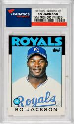 Bo Jackson Kansas City Royals 1986 Topps Traded #50T Rookie Card