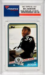 Bo Jackson Oakland Raiders 1987 Topps #327 Rookie Card