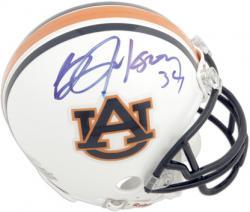 Bo Jackson Auburn Tigers Autographed Riddell Mini Helmet
