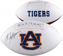 Bo Jackson Auburn Tigers Autographed White Panel Football