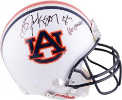Bo Jackson Auburn Tigers Autographed Riddell Pro-Line Authentic Helmet with Heisman 85 Inscription