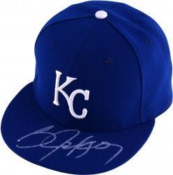 Bo Jackson Kansas City Royals Autographed New Era Blue Cap