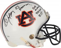 Bo Jackson Auburn Tigers Autographed Proline Helmet - Multiple Inscriptions