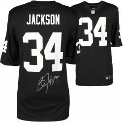 Bo Jackson Raiders Autographed Nike Jersey