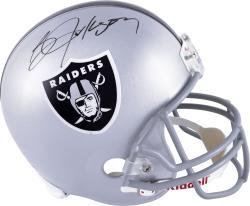 Bo Jackson Autographed Replica Helmet - Oakland Full Size