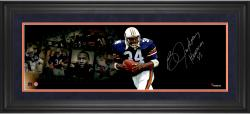 Framed Bo Jackson Auburn Tigers Signed 10x30 Photo - Limited Edition #1 Film Strip