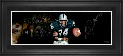 Framed Bo Jackson Autographed 10x30 ilm Strip Photo - Limited Edition #34
