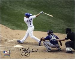 "Brett Jackson Chicago Cubs Autographed 8"" x 10"" Photograph - Mounted Memories"