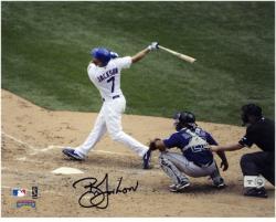 """Brett Jackson Chicago Cubs Autographed 8"""" x 10"""" Photograph"""