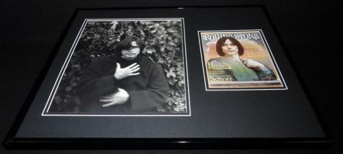 Jackson Browne 16x20 Framed Rolling Stone Cover Display