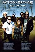 Jackson Browne Band Autographed Signed 12x18 Poster Photo UACC RD AFTAL