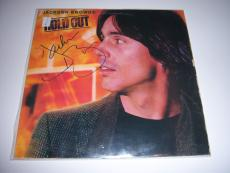 Jackson Browne Hold Out W/coa Signed Lp Record Album