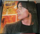 Jackson Browne Rock N Roll Legends Signed Hold Out Album Jsa Autographed #n67231