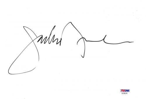 Jackson Browne Signed Authentic Autographed 6.5x9.5 Cut PSA/DNA #AC68345