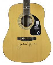 Jackson Browne Signed Epiphone Acoustic Guitar Autographed BAS #D06914
