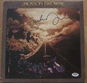 Jackson Browne signed LP Album Cover Running on Empty PSA/DNA autographed
