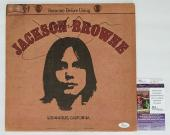 Jackson Browne Signed Saturate Before Using Record Album Jsa Coa K42111